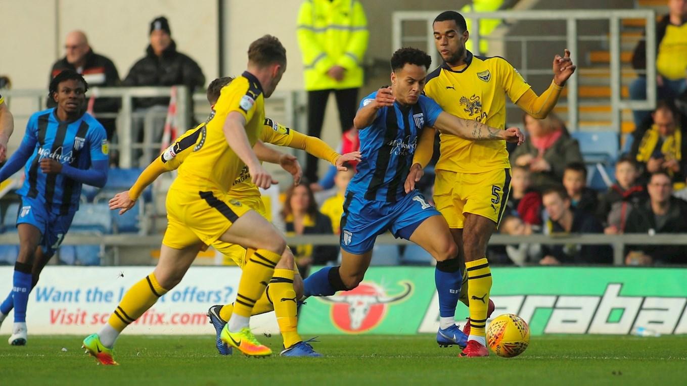 Report Oxford United 1 0 Gillingham News