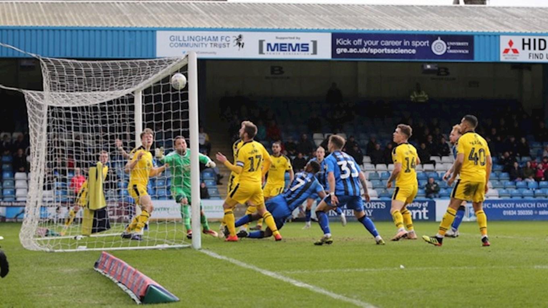 Report | Gillingham 1-0 Oxford United - News - Gillingham